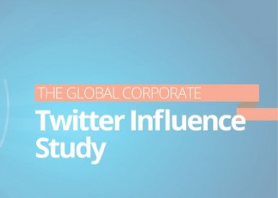 The Global Corporate Twitter Influence Study