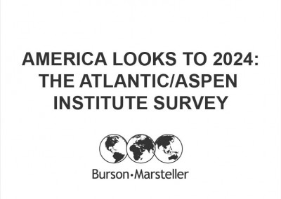 America Looks to 2024: The Atlantic/Aspen Institute Survey