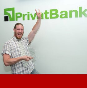 PrivatBank corporate and financial PR